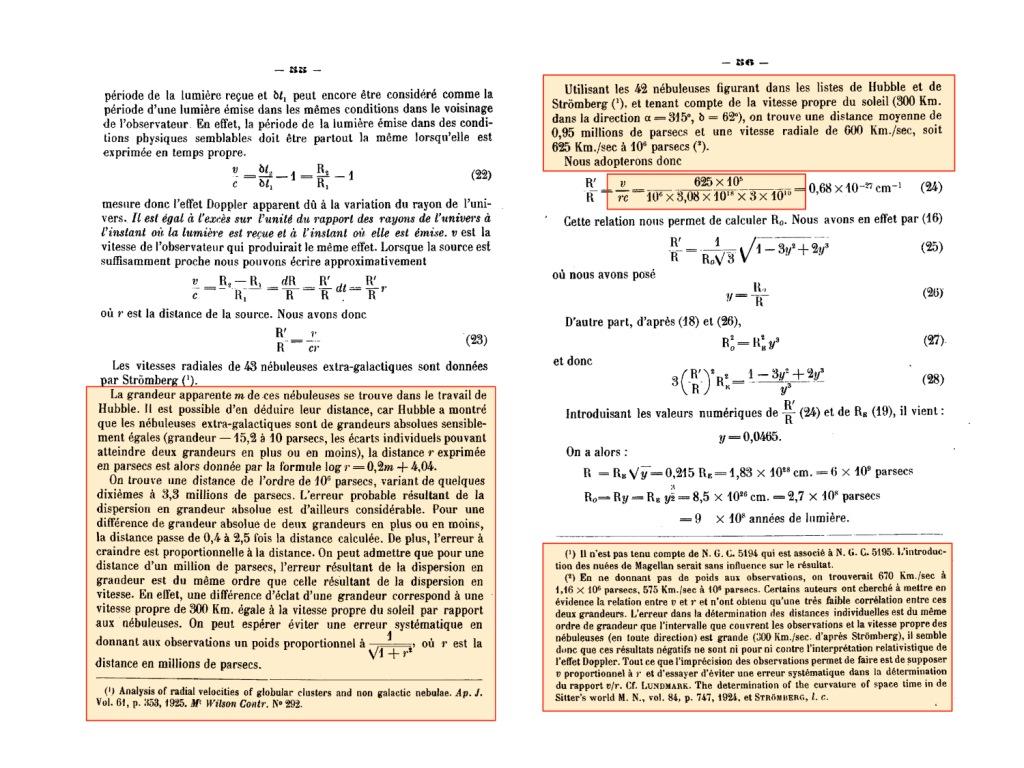 消された歴史―宇宙膨張、本当の発見者は?