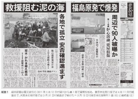大震災報道の6カ月