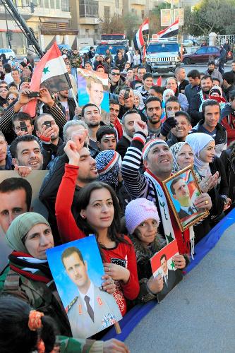 内戦の影におびえるシリアのキリスト教徒
