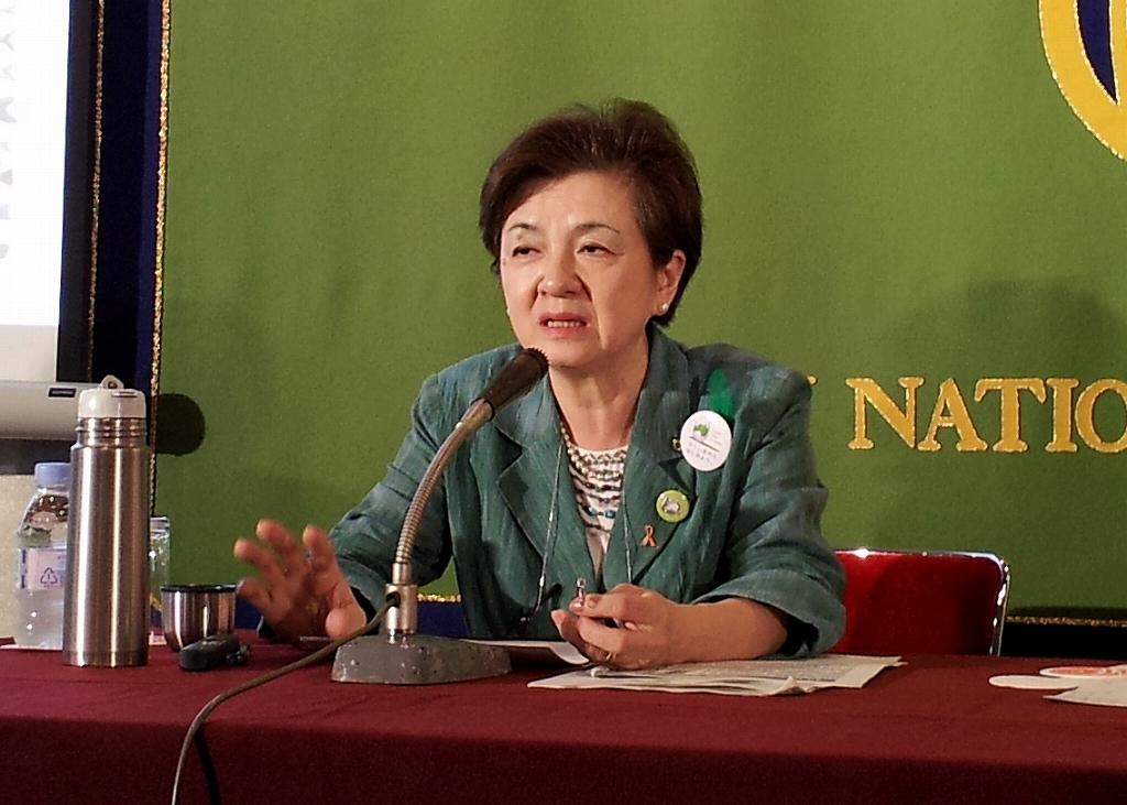 嘉田由紀子・滋賀県知事 政府は7提案に誠実に応えよ