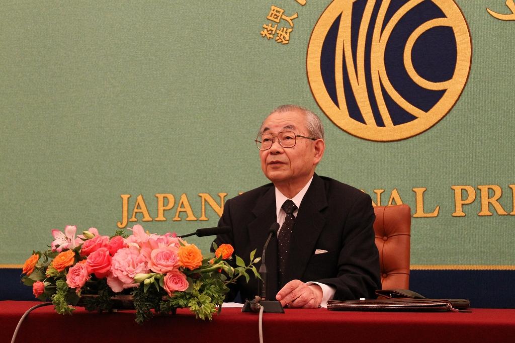 冷戦後の日本の政治 三谷太一郎・東京大学名誉教授講演