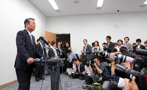 """小沢一郎氏の""""最終兵器""""――参院が日本の政治をだめにする"""