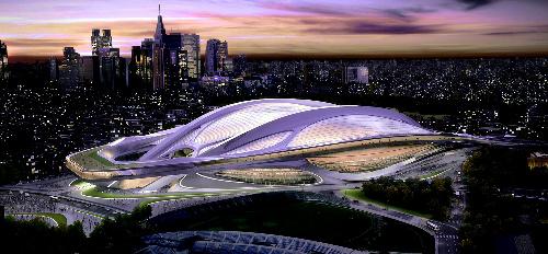 東京の未来には奇抜な新国立競技場がふさわしい