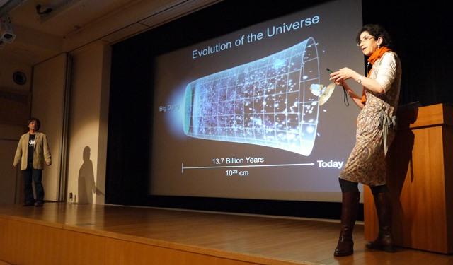 「素粒子から宇宙へ」ファビオラ・ジャノッティ博士講演会(下)
