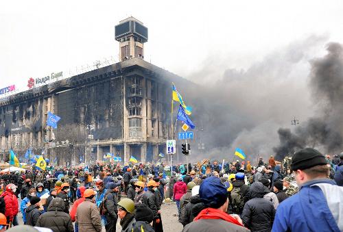 ウクライナの混乱は、アイデンティティーをめぐる亀裂