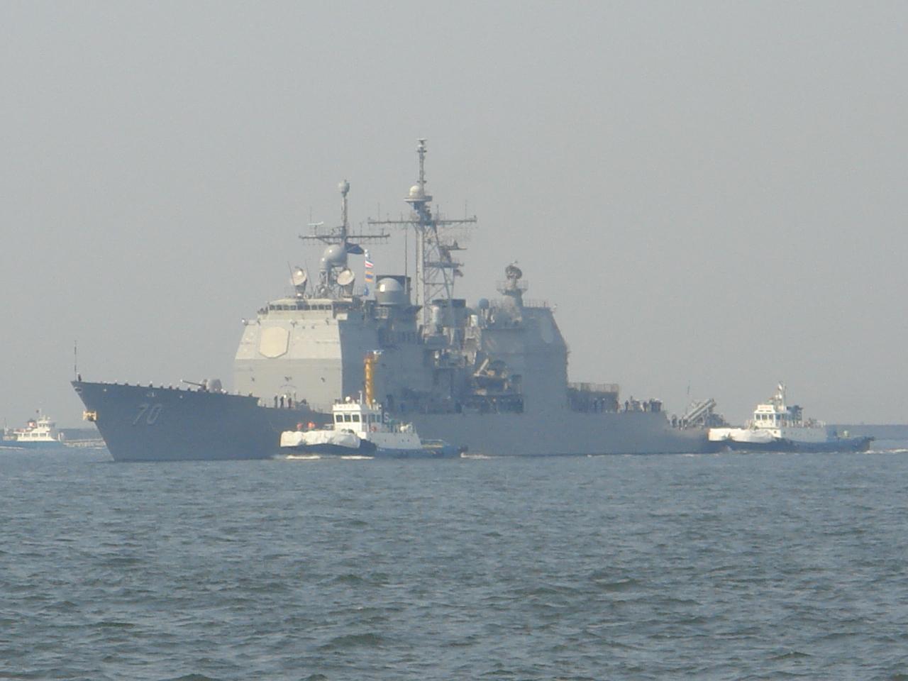 米国の最新鋭イージス艦が大阪寄港。その狙いとは?