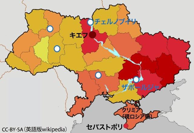 ウクライナ危機の隠された恐怖:原発への誤爆を防げるか
