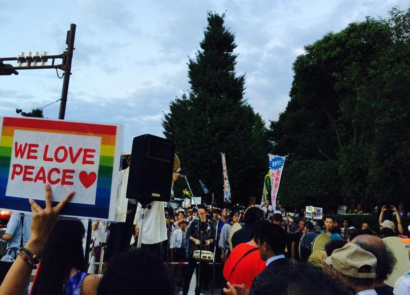 国会周辺でデモをする自由(中)――自民党本部前でうるさいのは首都高の騒音だ
