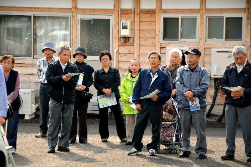 福島県知事選、現場の声と気持ちを知るために
