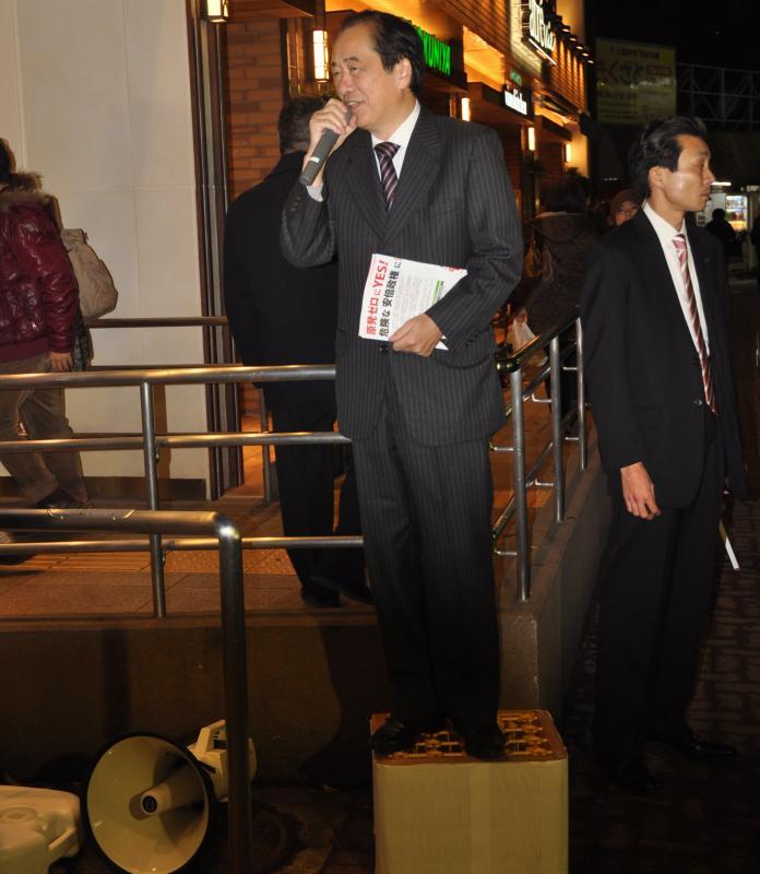 菅直人の総選挙、ほんとうの密着取材(下)