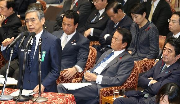 安倍首相と黒田総裁の間に吹くすきま風