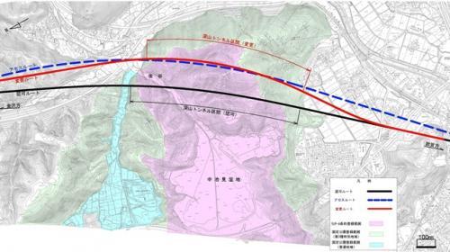 北陸新幹線の建設ルートは変更されたが……