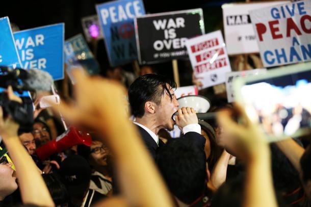 2015年安保、民主主義を再び始める若者たち