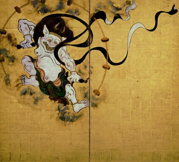 宗達・光琳・抱一「風神雷神図屏風」が京博に集う