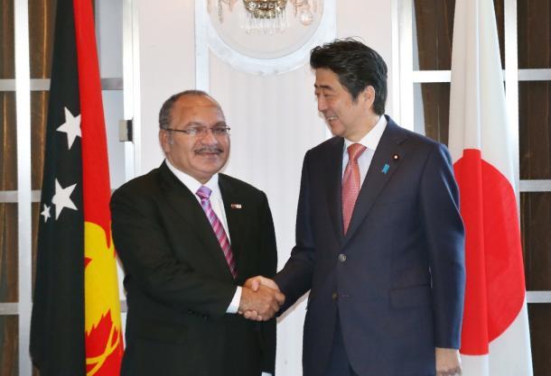パプアニューギニアのDV被害女性に日本の支援を