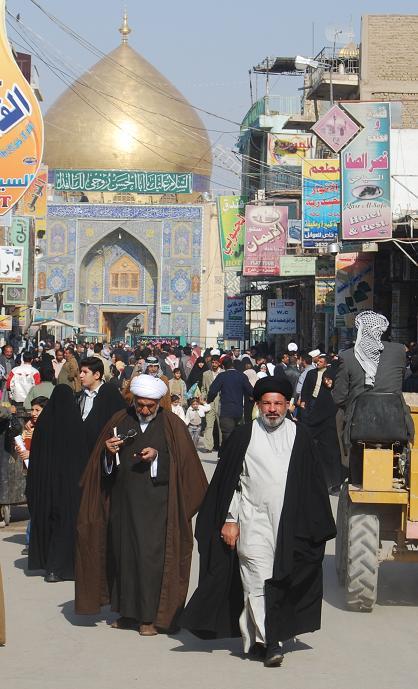 [29]シーア派の聖地、イラクのナジャフへ