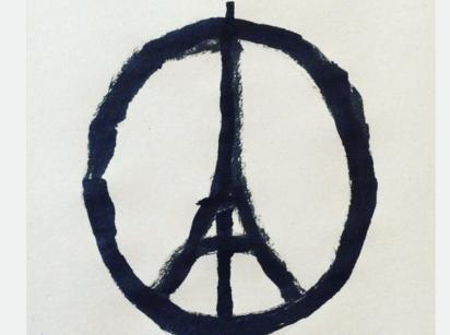 パリ同時多発テロが生んだシンボル(上)
