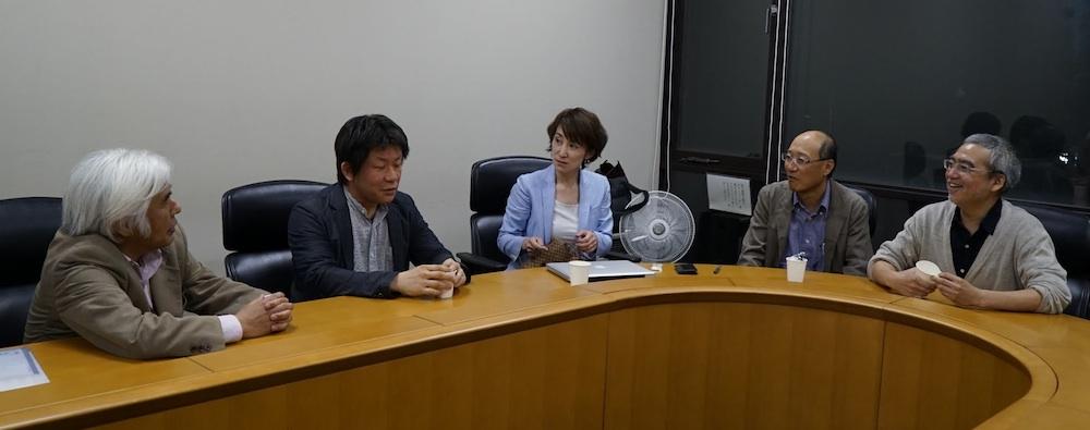 [2]科学者討論@北海道大学