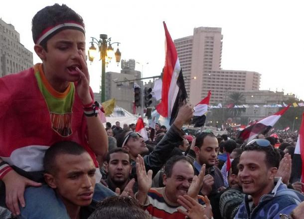 [31]エジプト革命、若者たちの反乱
