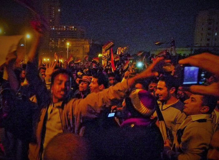 [32]エジプト革命、タハリール広場の戦い
