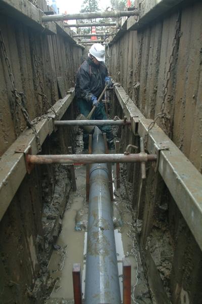 問われる巨大ハコモノ整備「公共下水道工事」