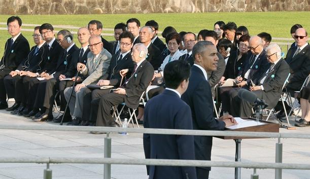 「核なき世界」へのプロセス問う米大統領広島訪問