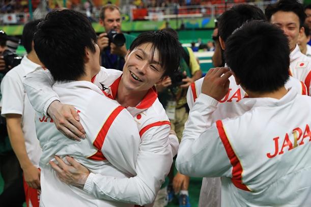 悲願の金メダルの体操男子団体は新黄金時代に