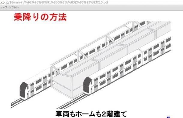 満員電車対策で総2階建て通勤電車は導入できるか