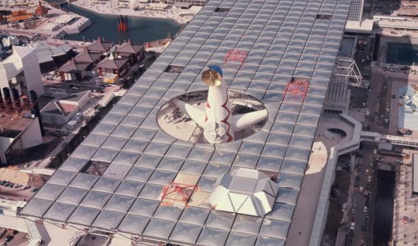 [9]1970大阪万博――屋根と塔の関係