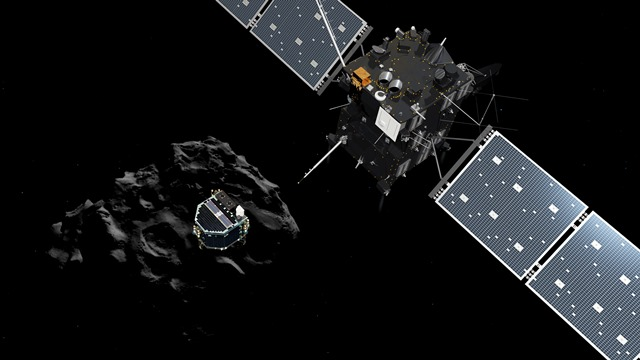 ロゼッタ彗星探査機とはやぶさの共通点