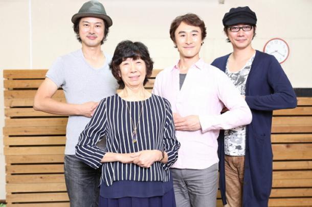 女子高生を演じる笠原、曽世、岩﨑×演出・倉田