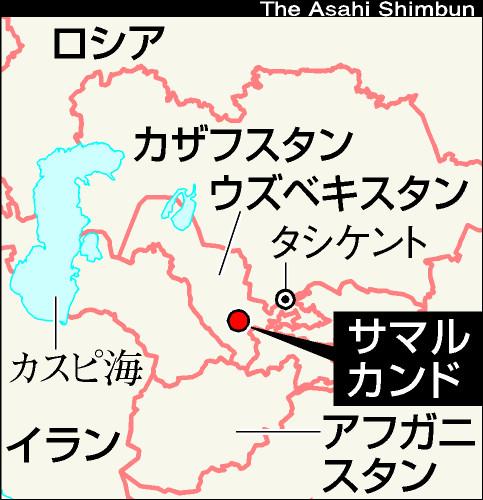 [5]ウズベキスタン、城壁都市ブハラの血の歴史