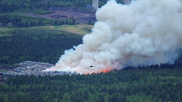 ゴミ処理場火災から考えるリスク管理