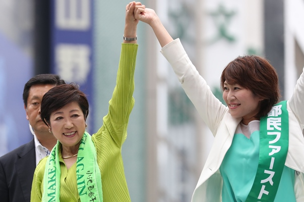 消去法で都民ファーストを選んだ東京育ち無党派層