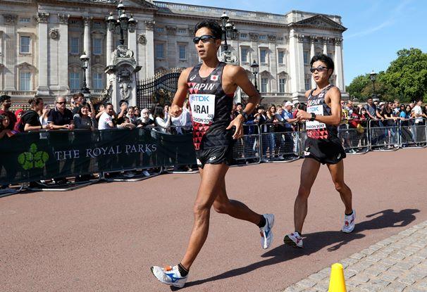 世界陸上男子50キロ競歩で銀・銅・5位の快挙