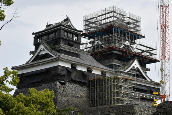 最新技術の導入こそ、城の建て替えの「伝統」