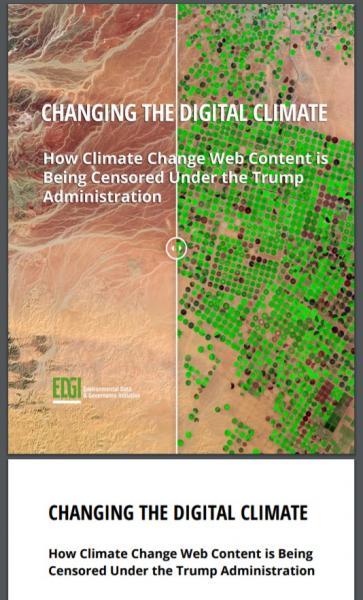米国は地球環境政策をリードしてきた