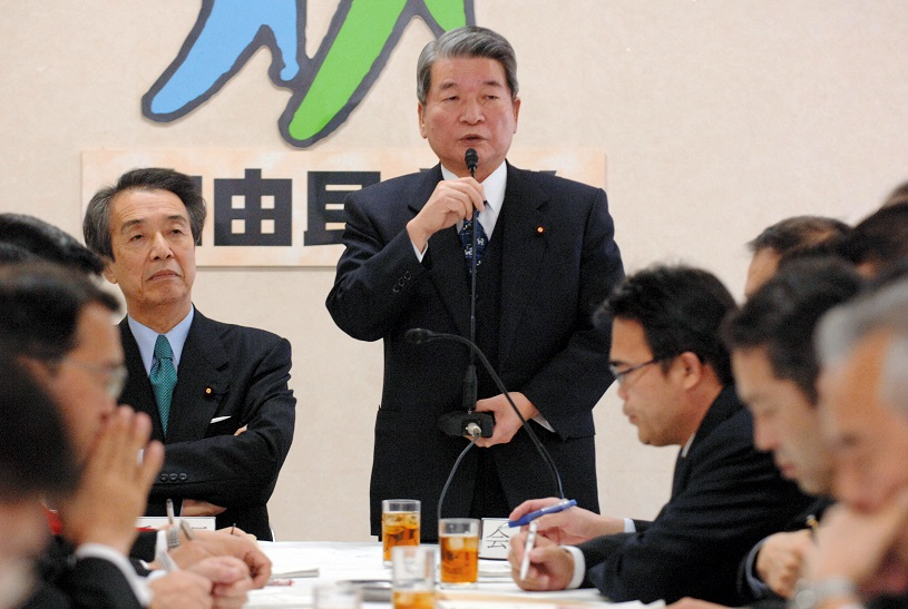 """③自民を代表する""""増税派"""" 柳沢伯夫元金融相"""