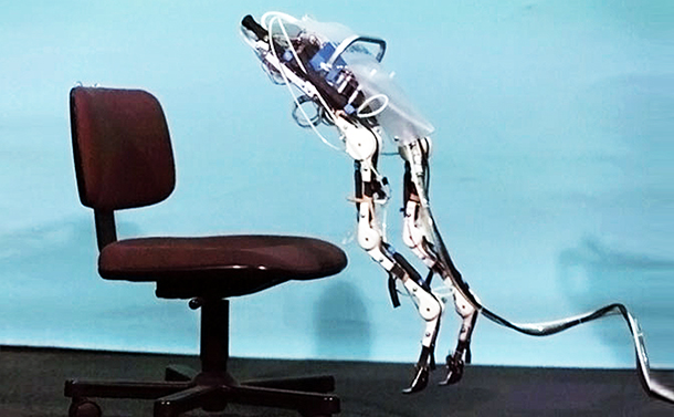 生物の動きを取り込む「しなやかロボット」の未来