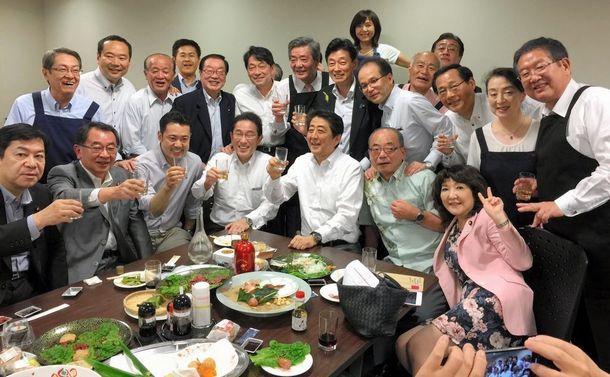 [94]「赤坂自民亭」に上川陽子法相がいた衝撃