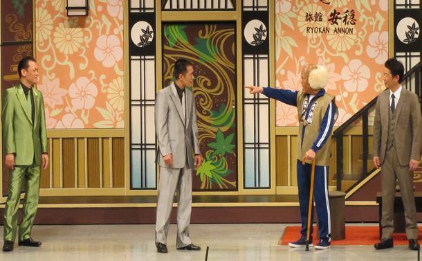 吉本新喜劇・平山昌雄の「ちゃんばら新喜劇」