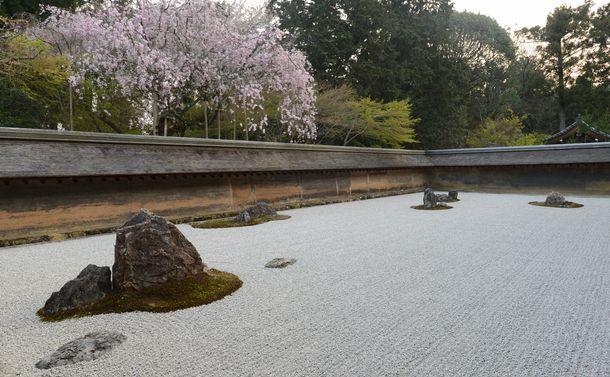 龍安寺の石庭は、韓国ではあり得ない