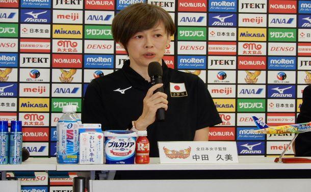 女子バレー世界選手権で中田監督が問う戦う姿勢