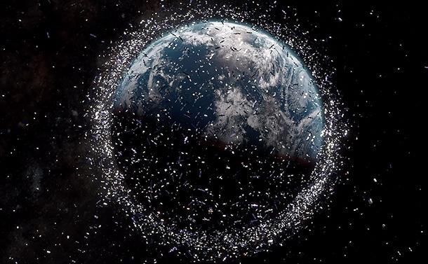 宇宙ゴミが自己増殖する時代