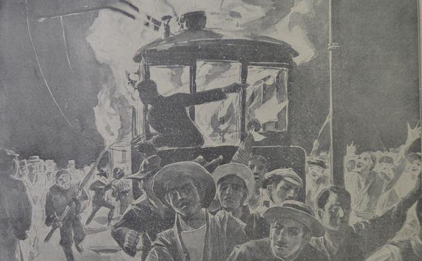戦中の「国民」あおった新聞 日比谷焼き打ち事件