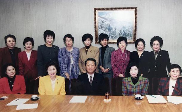 「夫婦別姓。僕は賛成だ」と小沢一郎さんは言った