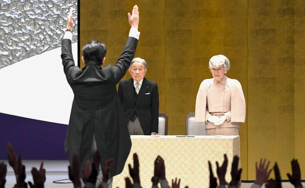 安倍首相と明仁上皇(上)