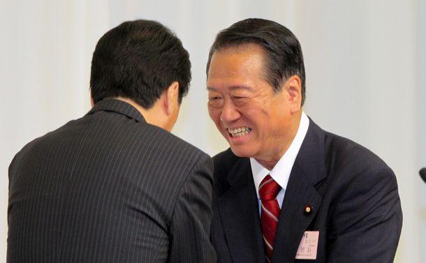 小沢一郎と鳩山由紀夫、それぞれの「辺野古」