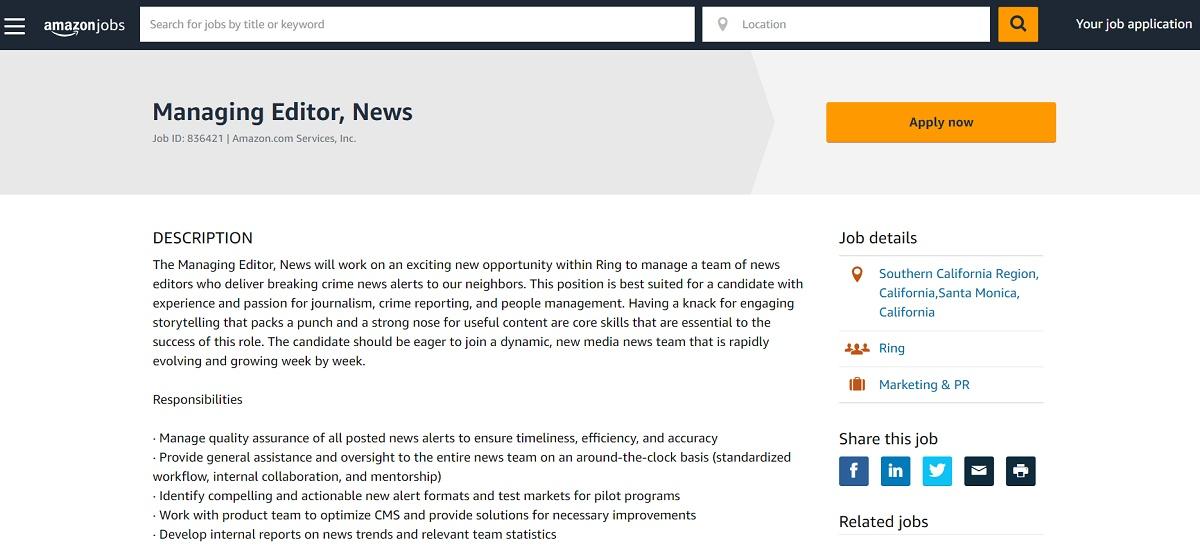 アマゾン「ローカル犯罪情報サービス」は是か非か