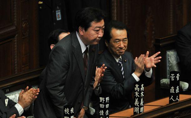 ドジョウ野田首相の挫折と安倍氏の執念の返り咲き